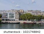 the picturesque embankments of... | Shutterstock . vector #1021748842