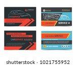 set of automotive repair... | Shutterstock .eps vector #1021755952