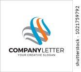 abstract design business logo | Shutterstock .eps vector #1021759792