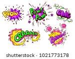collection of nine wording...   Shutterstock .eps vector #1021773178