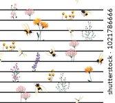 beautiful vector seamless... | Shutterstock .eps vector #1021786666