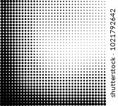 halftone black and white... | Shutterstock .eps vector #1021792642