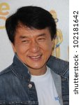 jackie chan at the 2010 mtv...   Shutterstock . vector #102181642