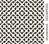 weave seamless pattern. stylish ... | Shutterstock .eps vector #1021839232