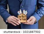 mortgage and real estate... | Shutterstock . vector #1021887502