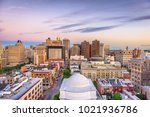 baltimore  maryland  usa... | Shutterstock . vector #1021936786