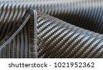 black carbon fiber composite...   Shutterstock . vector #1021952362
