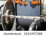 automotive industrial metal... | Shutterstock . vector #1021957288