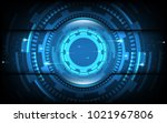abstract technology background... | Shutterstock .eps vector #1021967806