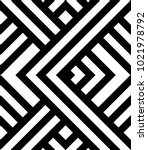 seamless pattern with black and ... | Shutterstock .eps vector #1021978792
