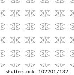 seamless vector pattern in... | Shutterstock .eps vector #1022017132