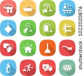 flat vector icon set   factory... | Shutterstock .eps vector #1022020876
