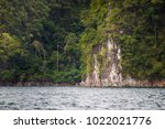 landscape of a big mountain and ... | Shutterstock . vector #1022021776