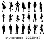 illustration of people... | Shutterstock .eps vector #10220467