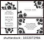 vintage delicate invitation... | Shutterstock .eps vector #1022072986