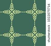 art bohemian baroque pattern.... | Shutterstock .eps vector #1022075716