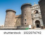 main entrance of the castel...   Shutterstock . vector #1022076742