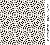 vector seamless pattern. modern ... | Shutterstock .eps vector #1022076766