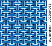 basket weave seamless pattern.... | Shutterstock .eps vector #1022084086