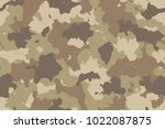 camouflage seamless pattern.... | Shutterstock .eps vector #1022087875