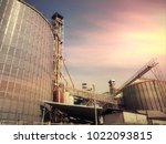 blurry the business  of  dustry ... | Shutterstock . vector #1022093815