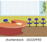 a office room  | Shutterstock .eps vector #10220950