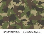 camouflage seamless pattern.... | Shutterstock .eps vector #1022095618