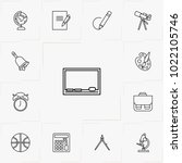school line icon set | Shutterstock .eps vector #1022105746