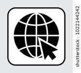 website icon. vector... | Shutterstock .eps vector #1022144242