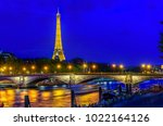 paris  france   may 30  2017 ... | Shutterstock . vector #1022164126