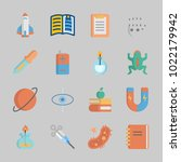 icons about science with magnet ...   Shutterstock .eps vector #1022179942