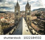 basilica of the national vote... | Shutterstock . vector #1022184532