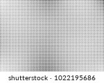 halftone pattern black and... | Shutterstock .eps vector #1022195686