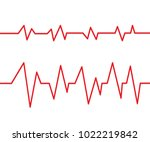 vector illustration of red... | Shutterstock .eps vector #1022219842