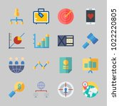 icons about business with...   Shutterstock .eps vector #1022220805