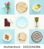 pesah celebration concept ... | Shutterstock . vector #1022246386