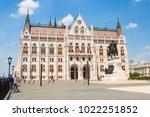 budapest  hungary   june 4 ...   Shutterstock . vector #1022251852