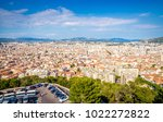 aerial view of beautiful city...   Shutterstock . vector #1022272822