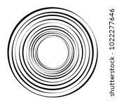 geometric radial element.... | Shutterstock .eps vector #1022277646