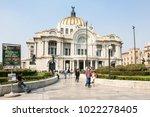 mexico city  mexico   march 3d  ...   Shutterstock . vector #1022278405