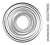 geometric radial element.... | Shutterstock .eps vector #1022278606