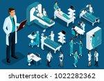isometrics medicine  doctor... | Shutterstock .eps vector #1022282362