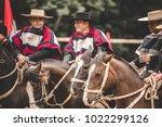 pichilemu  sexta region   chile ... | Shutterstock . vector #1022299126