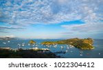 panoramic view of labuan bajo ... | Shutterstock . vector #1022304412