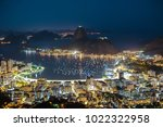 sugar loaf mountain in rio de... | Shutterstock . vector #1022322958