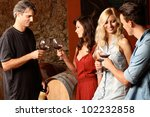 wine tasting | Shutterstock . vector #102232858