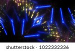 abstract shiny blue background... | Shutterstock . vector #1022332336