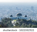 aerial view of griffith... | Shutterstock . vector #1022332522