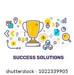 vector creative illustration of ... | Shutterstock .eps vector #1022339905