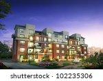3d building   Shutterstock . vector #102235306